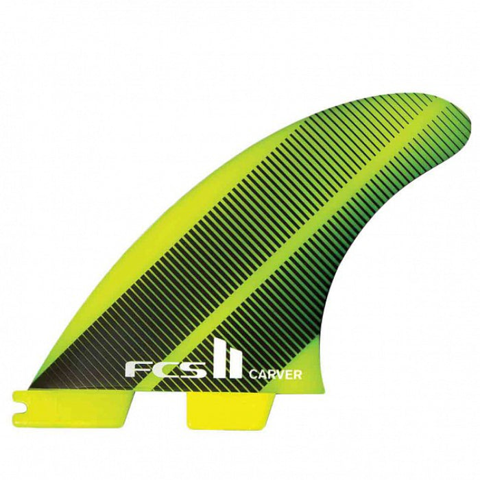 FCS II Carver Neo Glass Tri Fin - Medium - Acid Gradiant MEMBERS PRICE - STOCK INSTORE ONLY - CALL OR EMAIL