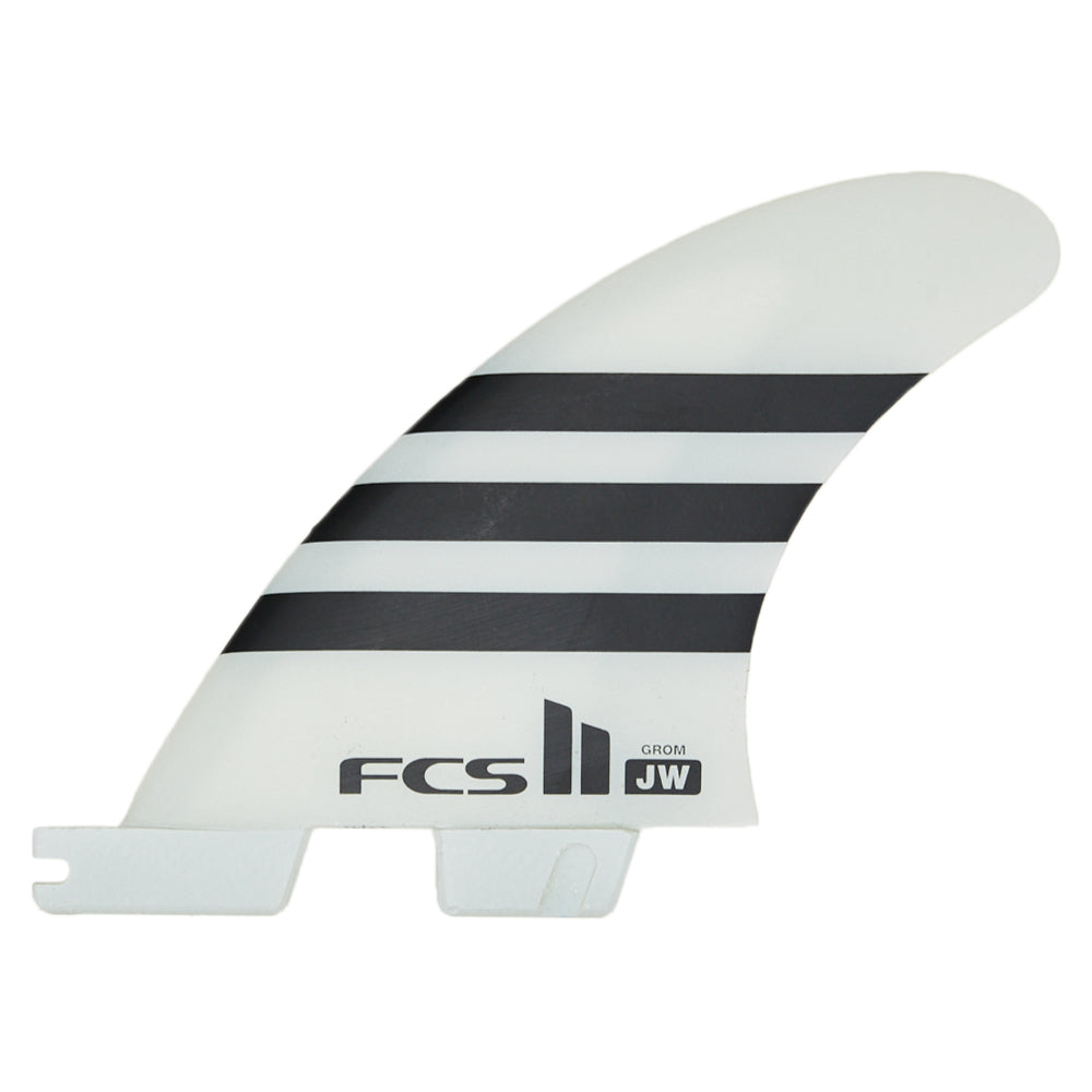 FCS II JW PC Grom Fin - Black/White - STOCK INSTORE ONLY - CALL OR EMAIL