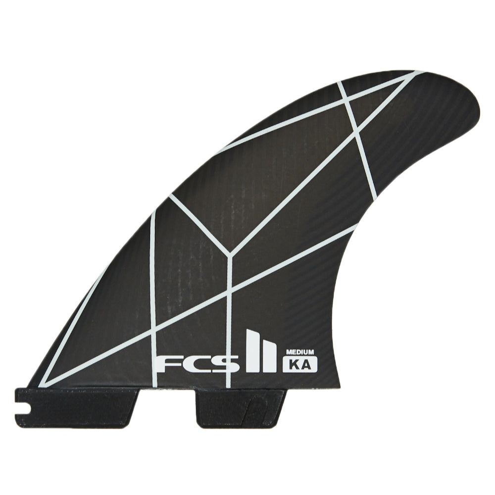 FCS II KA PC Medium Fins - White/Grey - STOCK INSTORE ONLY - CALL OR EMAIL