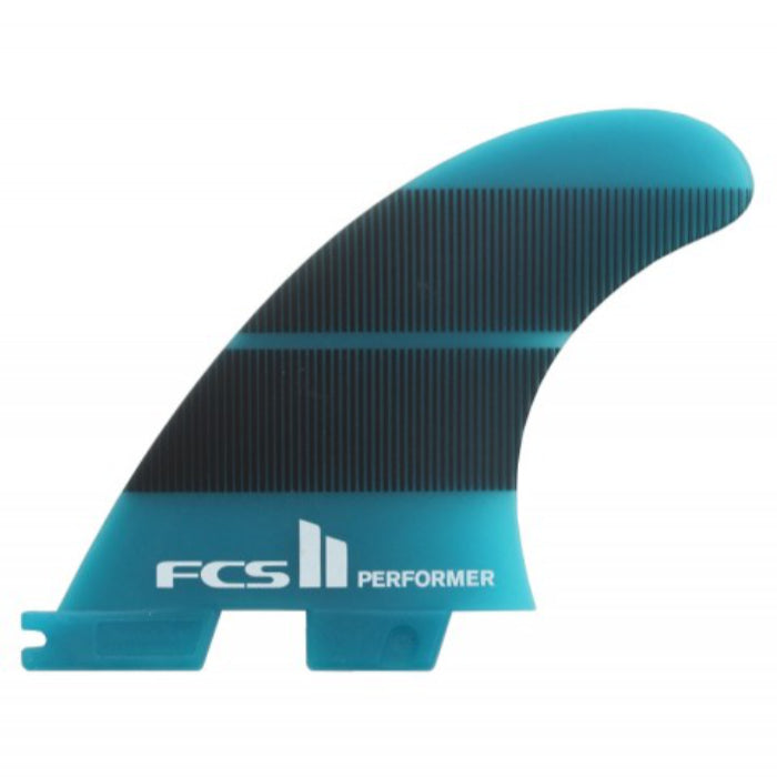 FCS II Performer Neo Glass Tri Fin - XSmall - Teal MEMBERS PRICE - STOCK INSTORE ONLY - CALL OR EMAIL