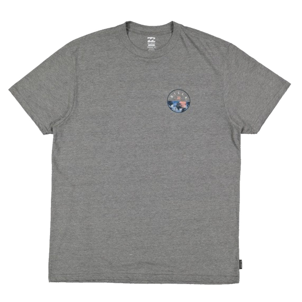 Billabong Rotor Tee - Mens - Dark Grey Heather