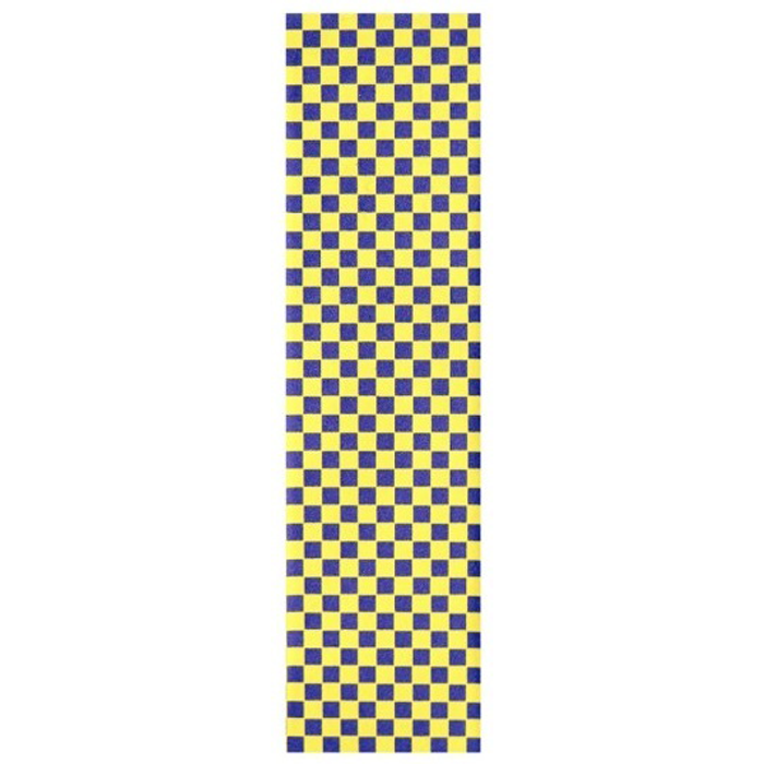 Fruity Griptape 9x33 - Purple Yellow Checkers Single Sheet