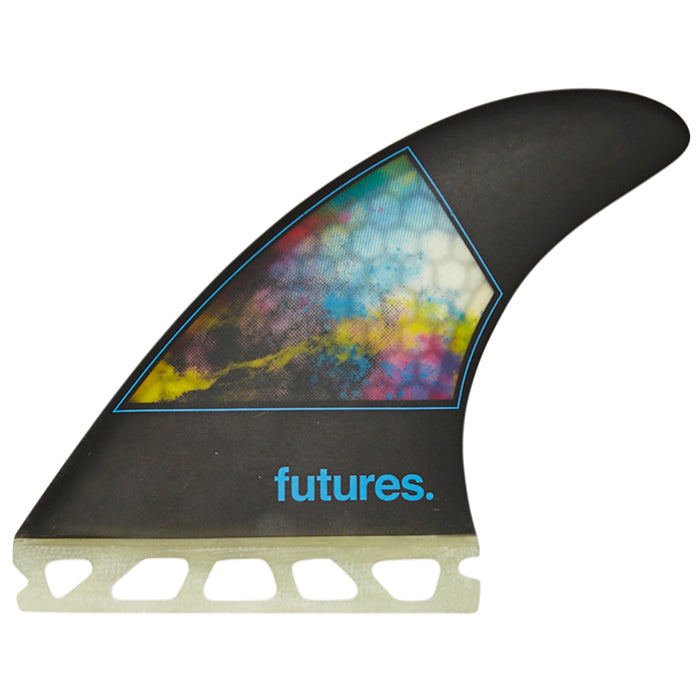 Futures Jordy Smith HC Tri Fin Set Small - Black MEMBERS PRICE