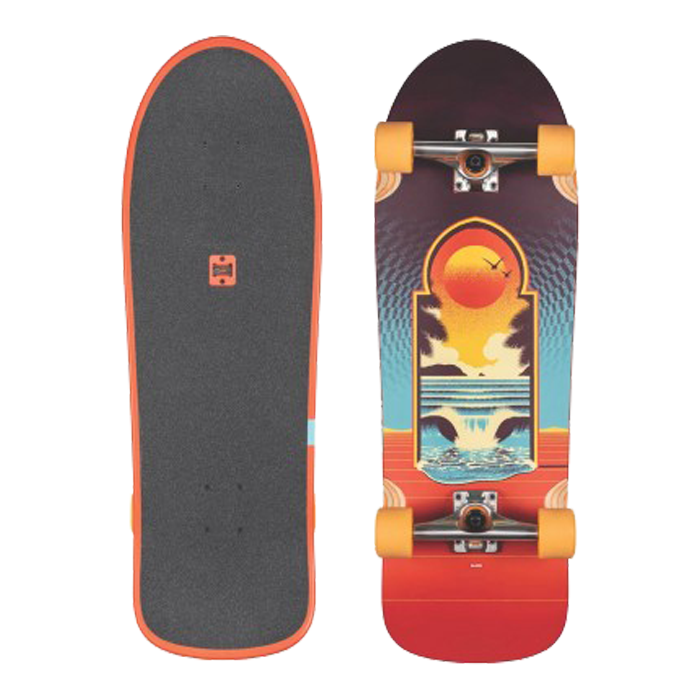 Globe Aperture Skateboard Complete 31 - Cult Of Freedom/Portal