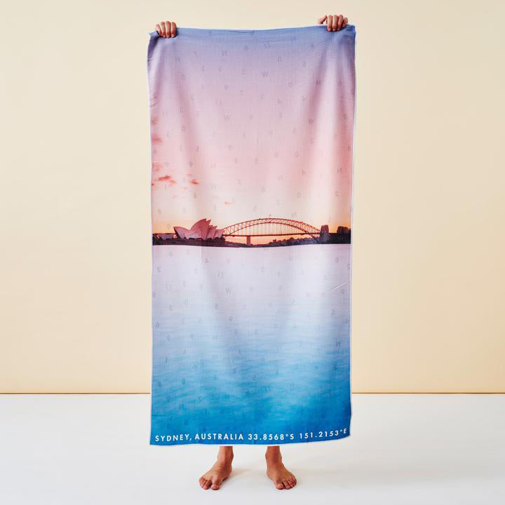 Destination Towels - Harbour Pastels