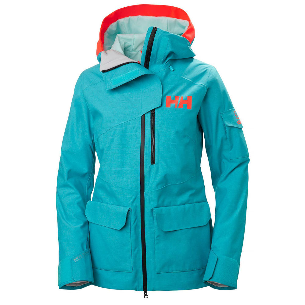 Helly Hansen Powderqueen 2.0 Jacket Womens - Scuba Blue