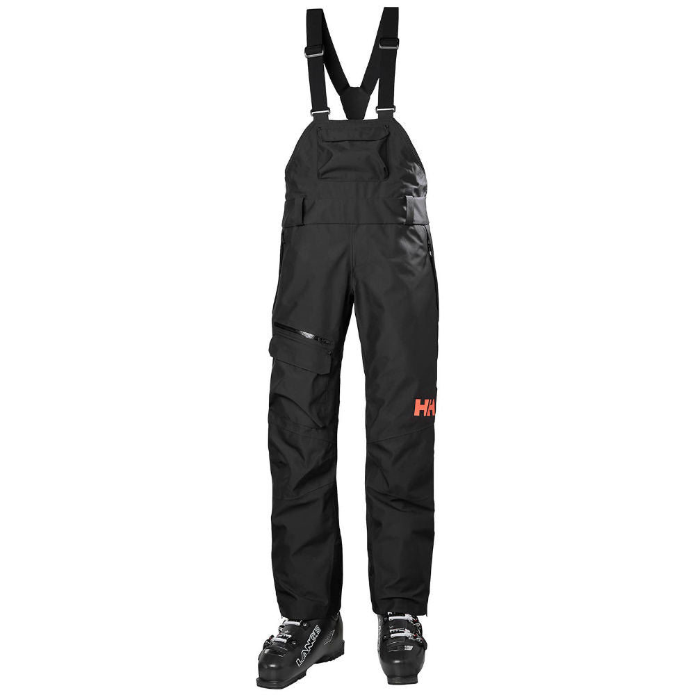 Helly Hansen Powderqueen Bib Pant - Womens - Black
