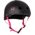 S-One Helmet Lifer Black Matte/Pink Straps