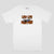 Passport L.L Brick Tshirt Mens - White