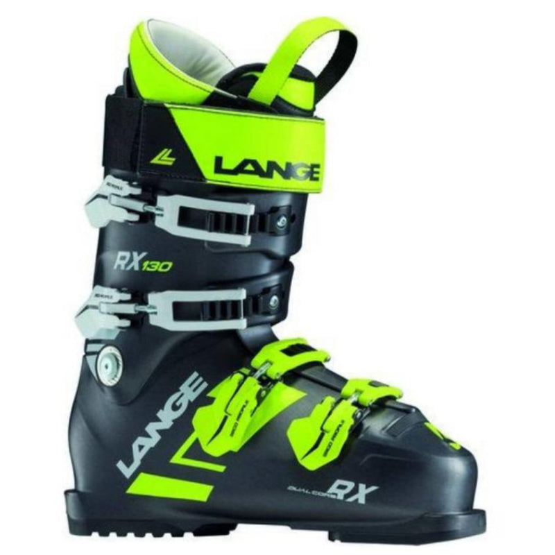 Lange RX 130 Boots - Mens Black/Green 2018