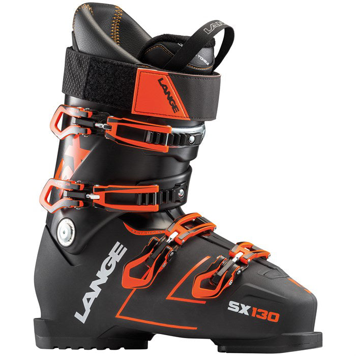 Lange SX 130 Boots - Mens Black/Orange 2019