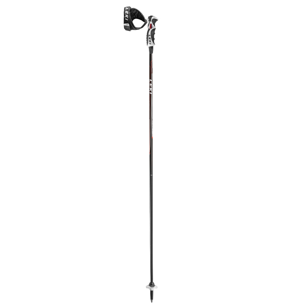 Leki Carbon 14S Ski Pole - Red/White/Anthracite