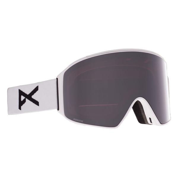 Anon M4 Cylindrical Goggles Mens - White/Perceive Sunny Onyx