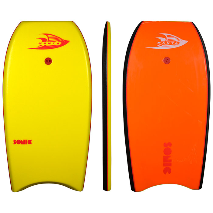 Manta Sonic 40 Bodyboard - Yellow
