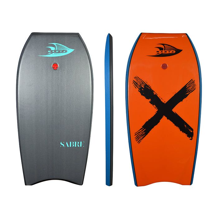 Manta Sabre 45 Bodyboard - Quartz Grey