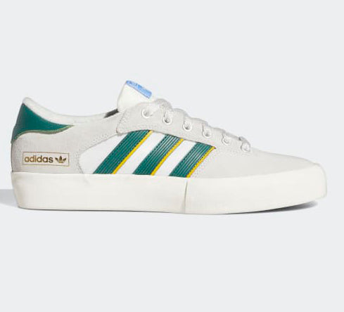 Adidas Matchbreak Super Shoes Mens - Crystal White /Collegiate Green /Crew Yellow