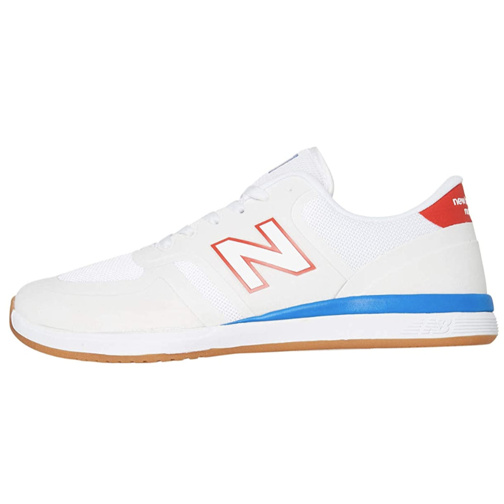 New Balance Numeric 420 Mens Shoes - White Red