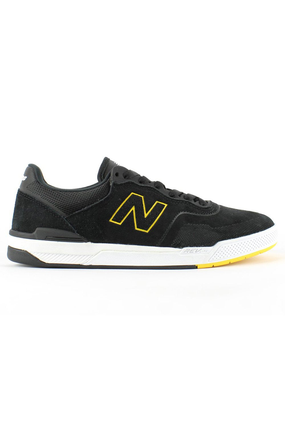 New Balance Numeric 913 Mens Shoes - Black Yellow