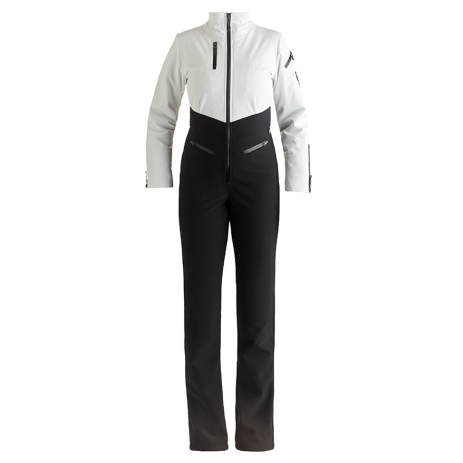 Nils Kora One Piece Suit Womens - White/Black
