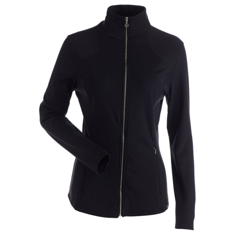 Nils Lexi Full Zip Fleece - Black
