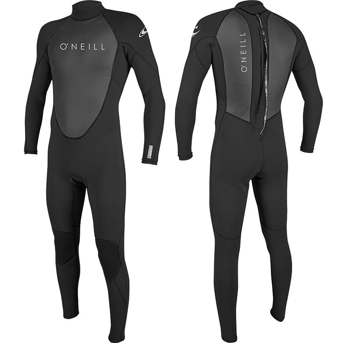 Oneill Reactor Full 3/2mm Wetsuit Mens -Black/Black