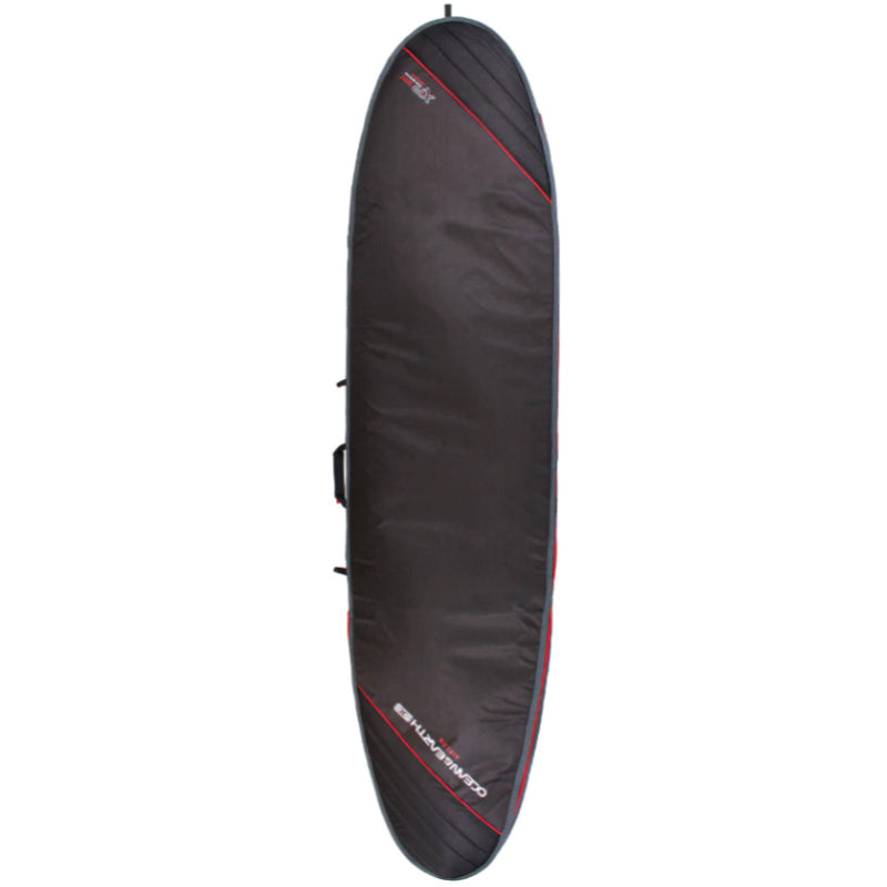 Ocean & Earth Aircon Longboard Board Cover - Black/Red
