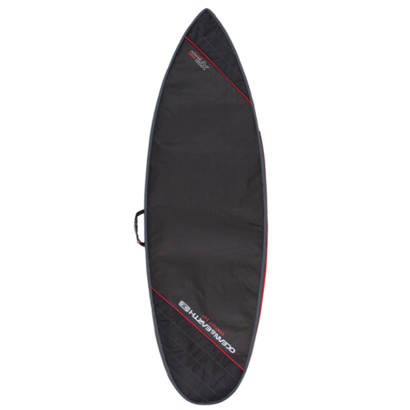Ocean & Earth Compact Day Shortboard Cover - Black