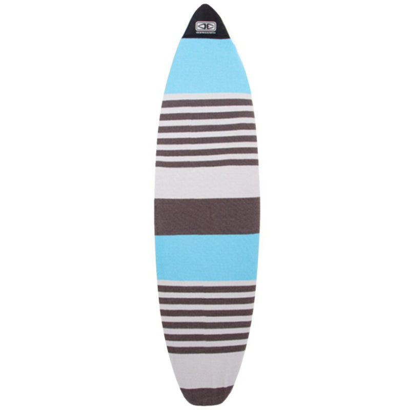 Ocean & Earth Fish Stretch SOX Board Cover - Blue Stripe/Denim - MEMBERS PRICE