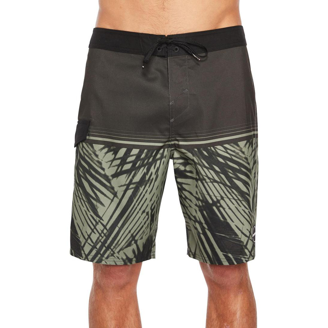 Oneill Hideout Boardshort - Mens - Black Green