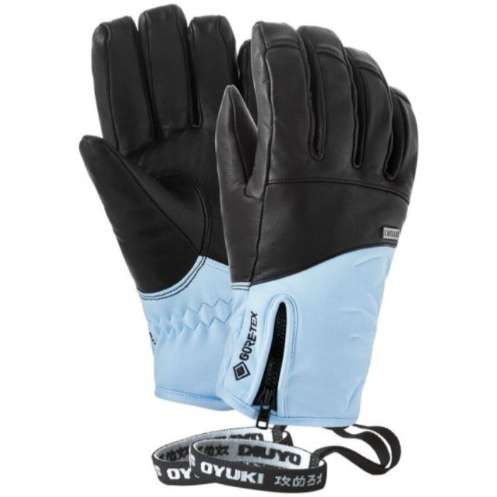 Oyuki Kana GTX Ladies Ski Glove - Black/Blue Bell