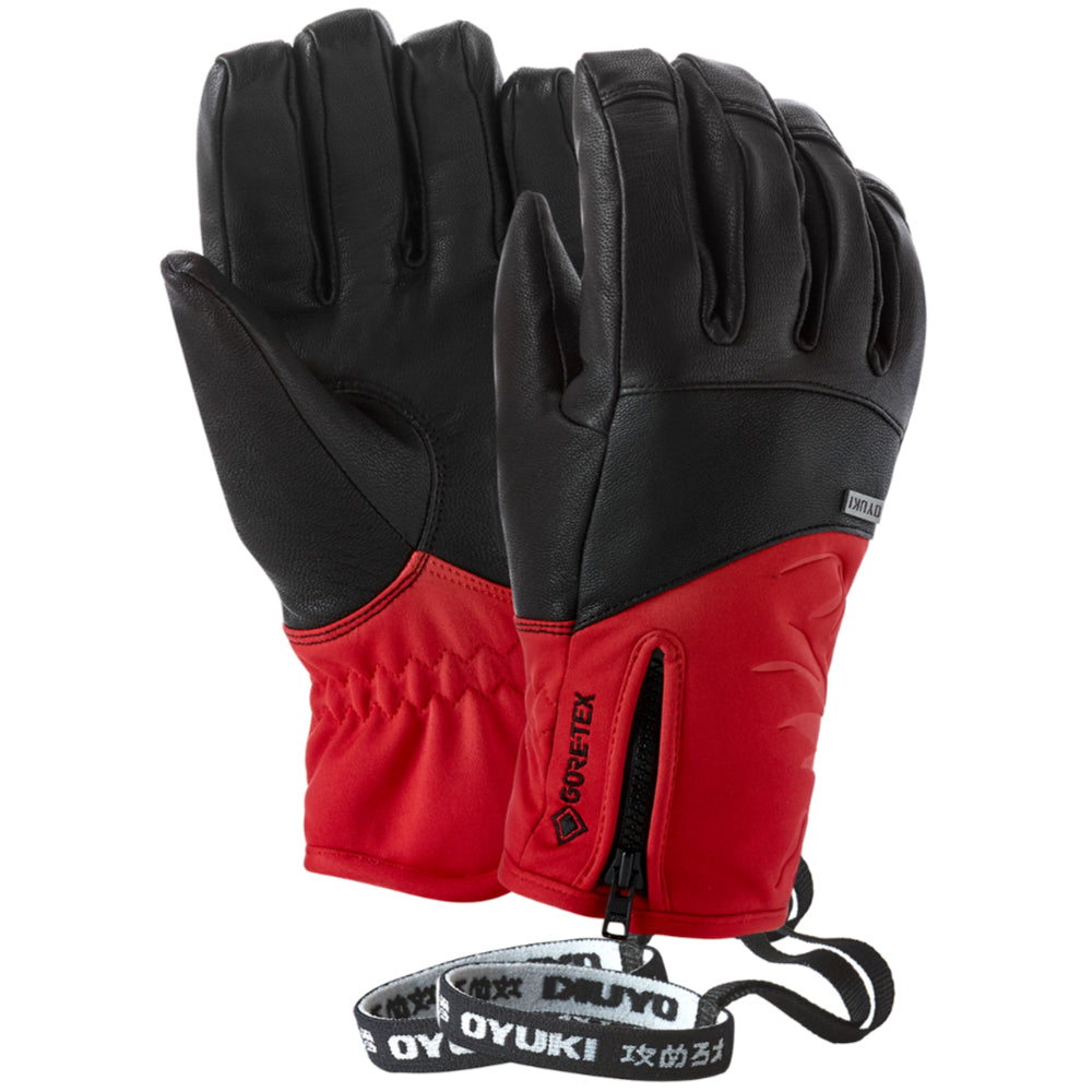 Oyuki Kana GTX Ladies Ski Glove - Black/Haute