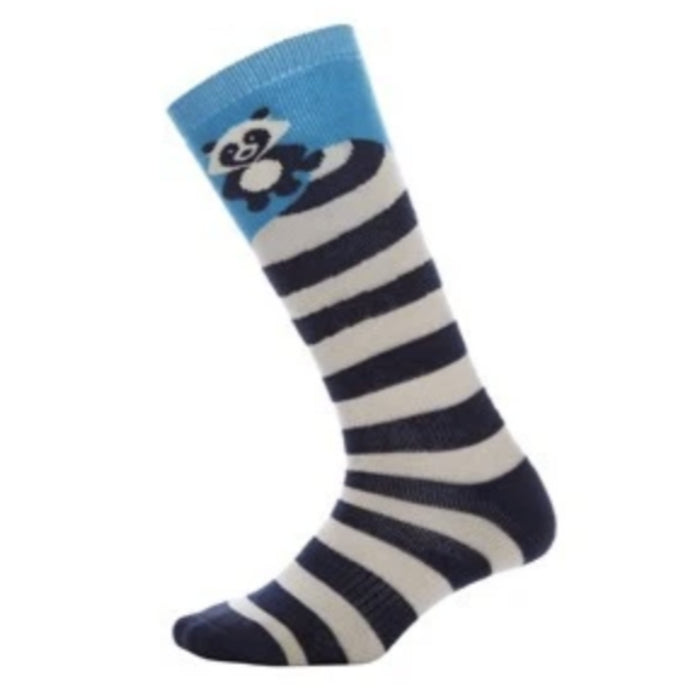 Oyuki Tanuki Sock Kids - Stripped Blue