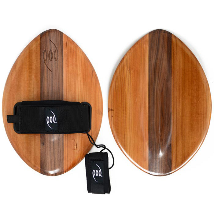 POD FLO 375mm Handboard - Cedar Walnut