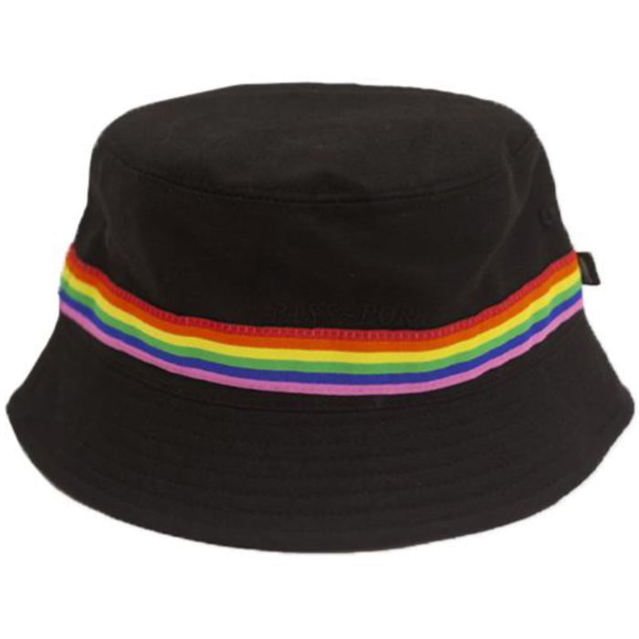 Passport Mardi Gras Bucket Hat - Black