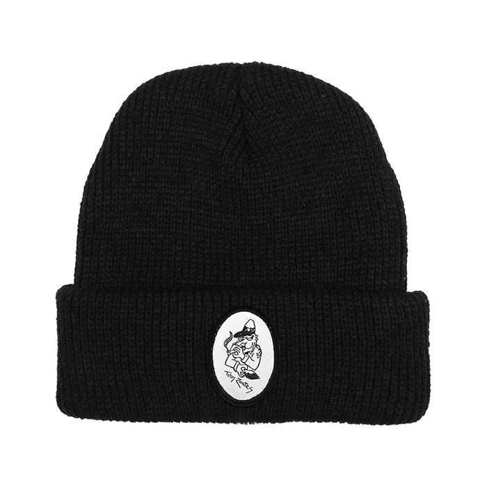 Passport Toby Zoates Copper Beanie - Black