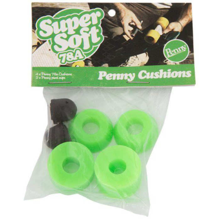 Penny Cushion Set 78A - Neon Green