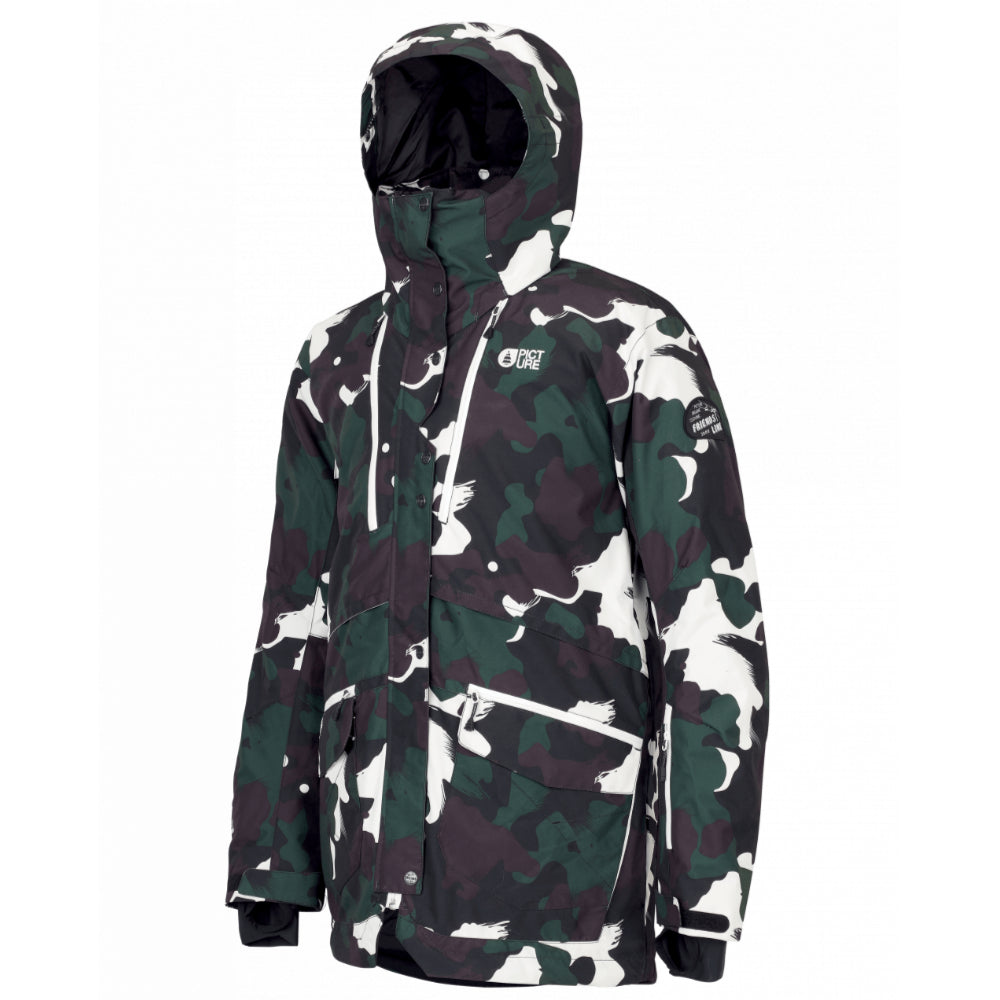 Picture Picture Pure Mens Jacket - Black Painter