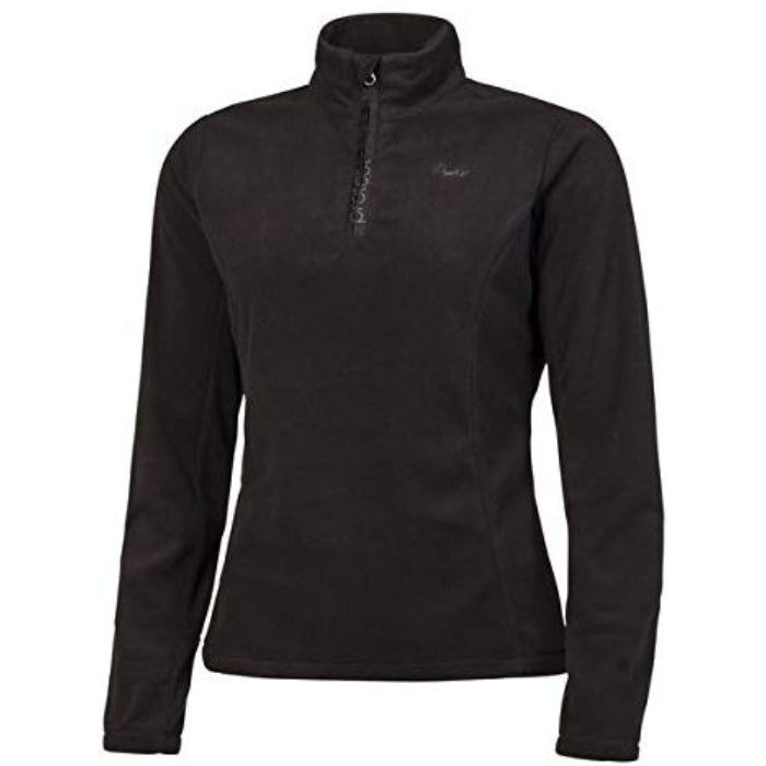 Protest Mutey 1/4 Zip Top Womens - True Black