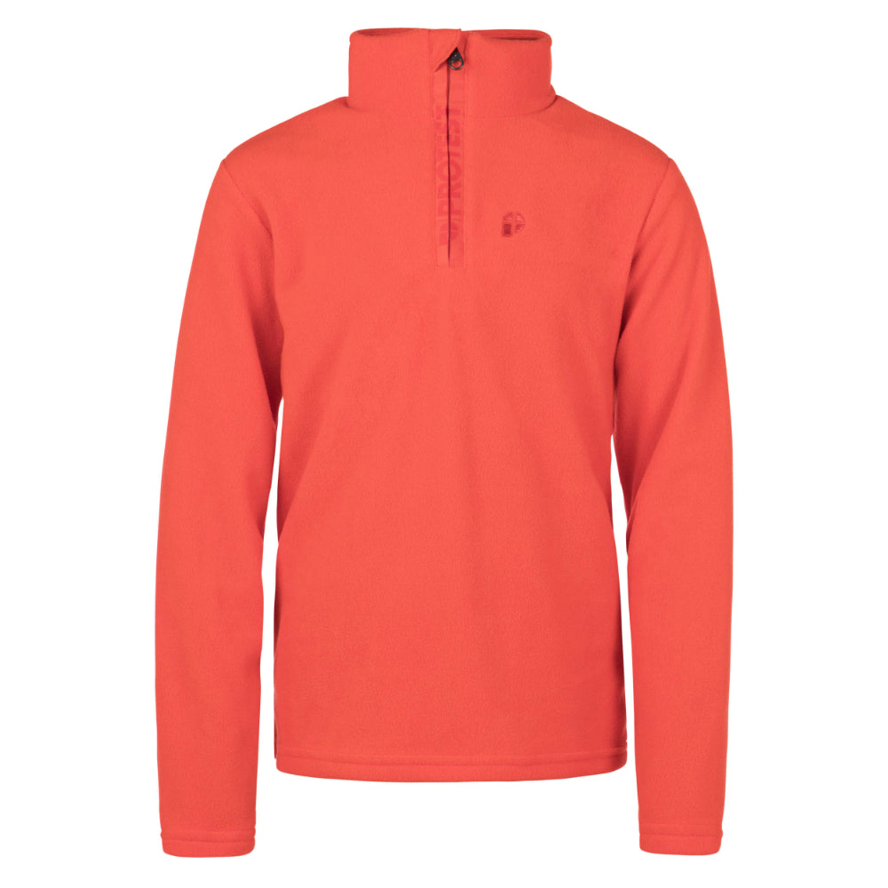 Protest Perfectly 1/4 Zip Top Mens - Cinema