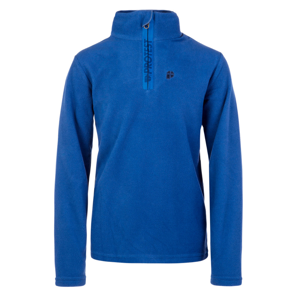 Protest Perfectly 1/4 Zip Top Mens - Sporty Blue