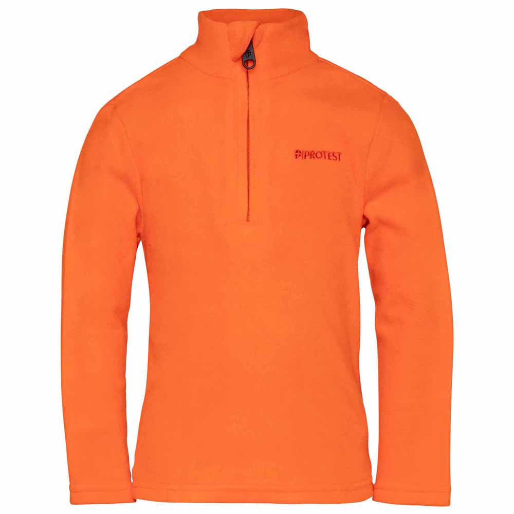 Protest Perfectly Junior 1/4 Zip Top Boys - Sun Dust