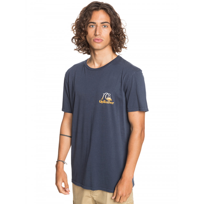 Quiksilver Flow Ride T Shirt- Mens - Parisian Night