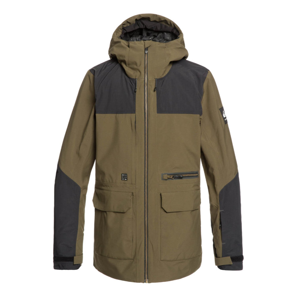 Quiksilver Arrow Wood Jacket Mens - Grape Leaf