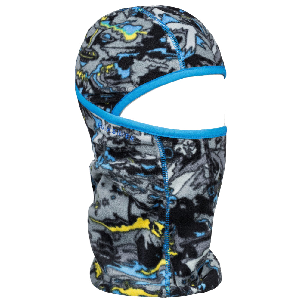 Quiksilver Fleece Balaclava Kids - Sulphur Pop Yeti Forest