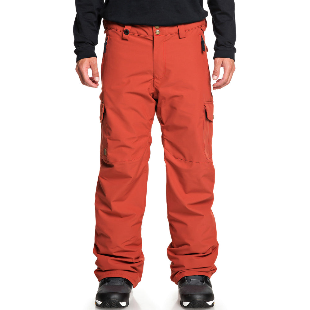 Quiksilver Porter Pant Mens - Barn Red