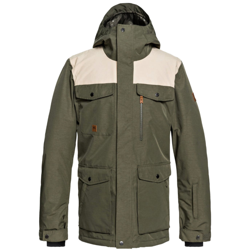 Quiksilver Raft Jacket Youth - Grape Leaf