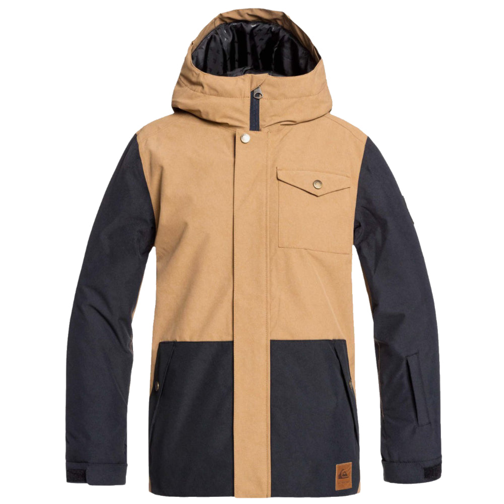 Quiksilver Ridge Youth Jacket - Otter