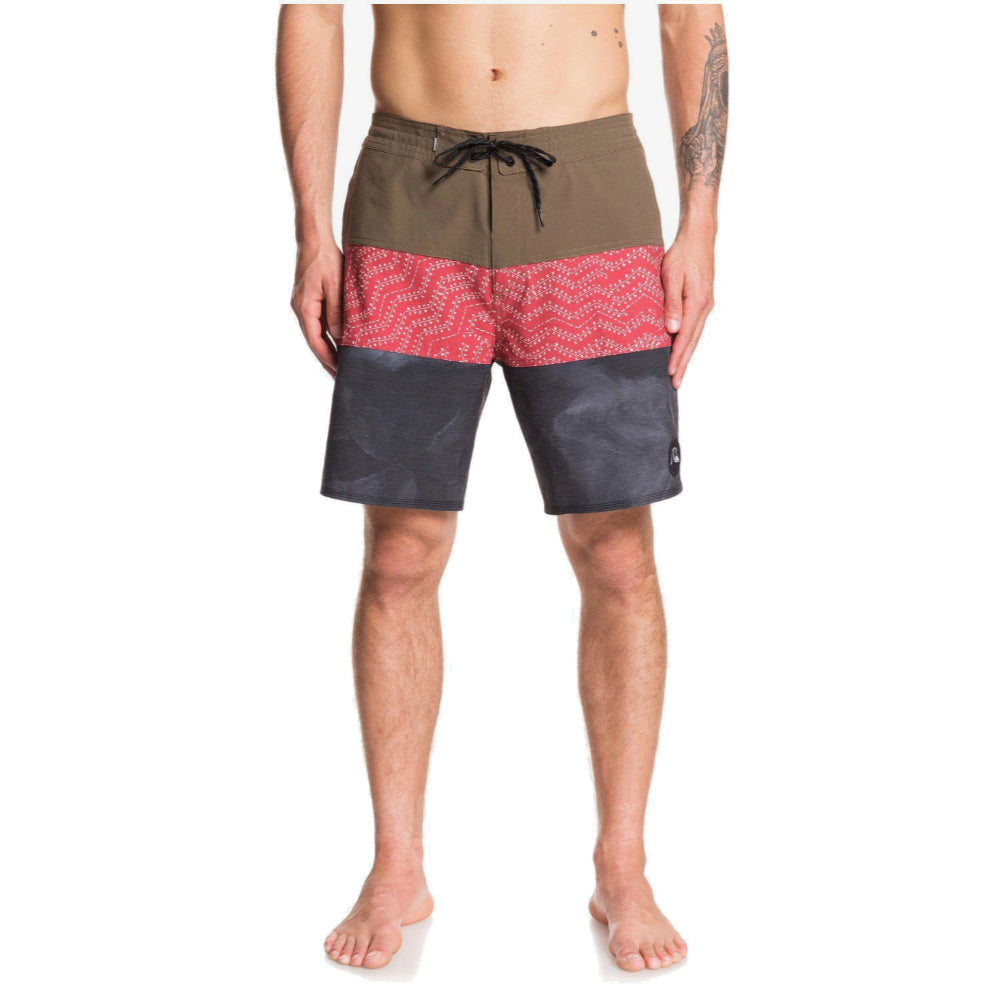 Quiksilver Washed Beachshort Mens - Crocodile