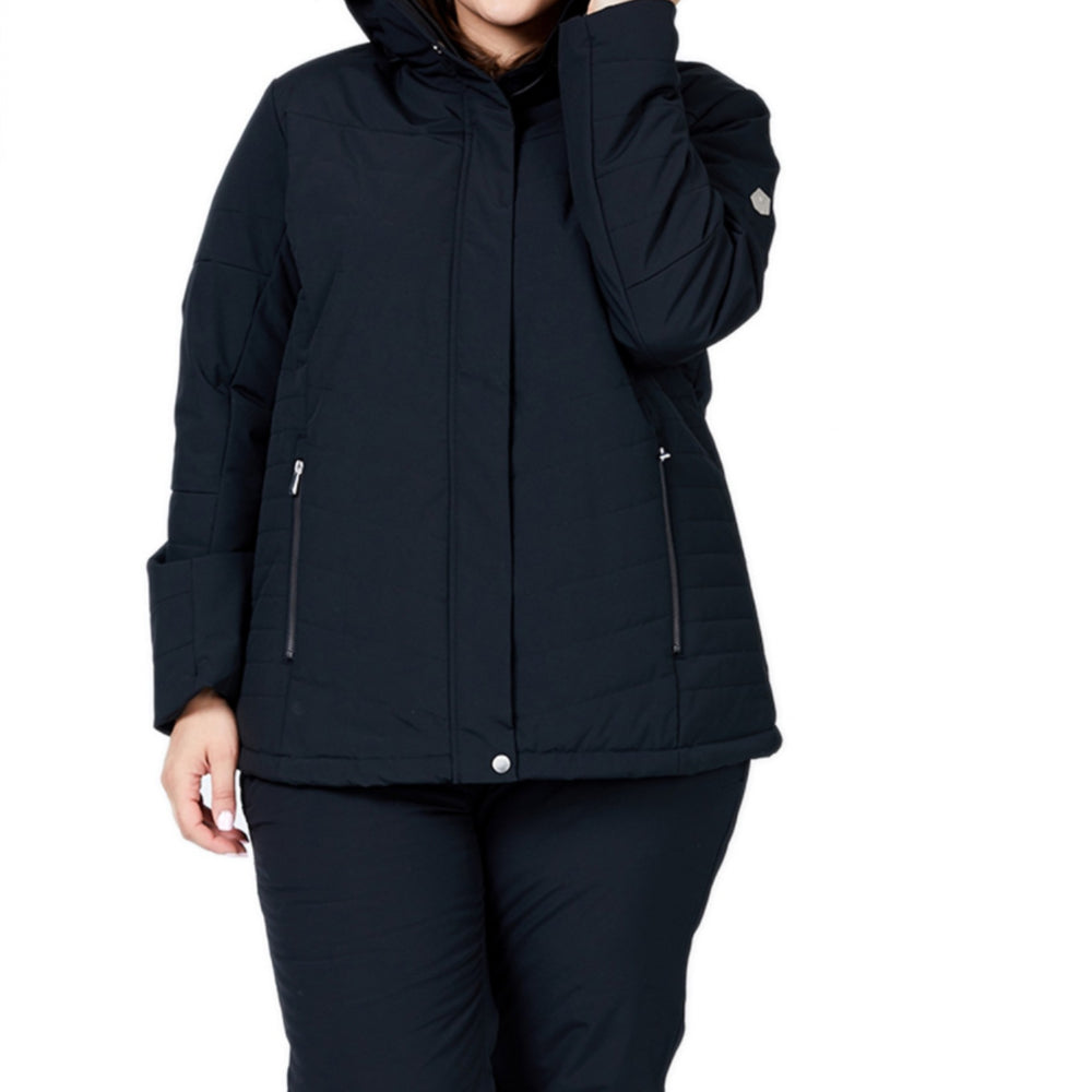 Raiski Kikai Snow Jacket Womens - Black