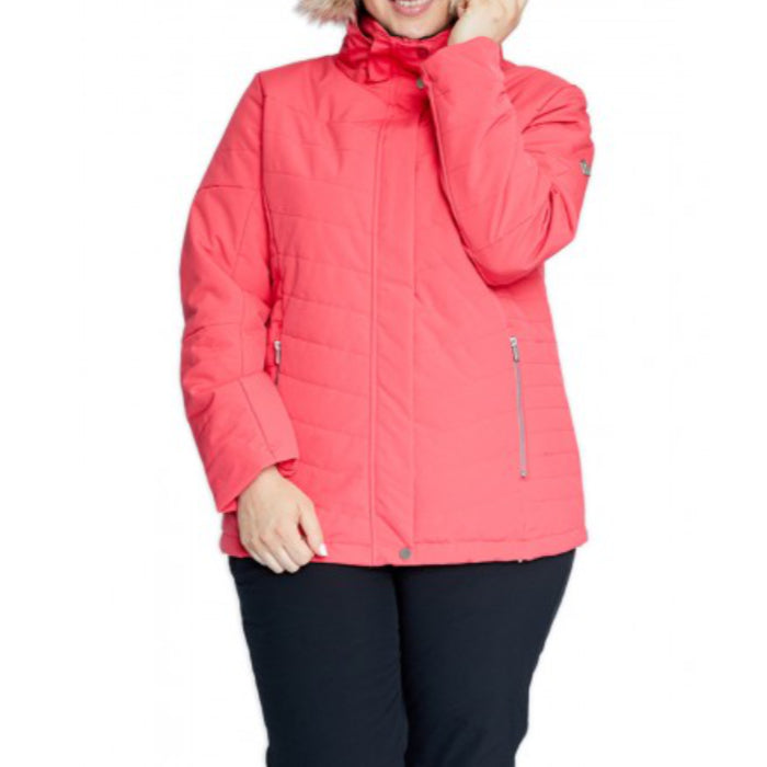 Raiski Kikai Snow Jacket Womens - Teaberry